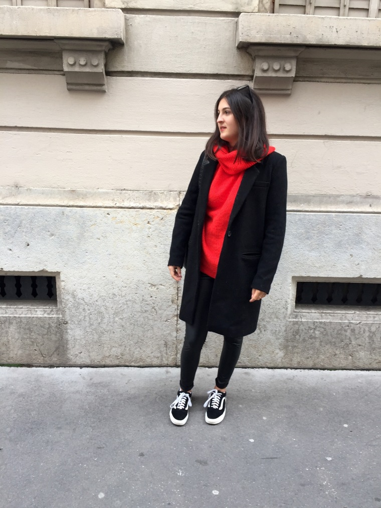 Leggings_cuir_pull_rouge8