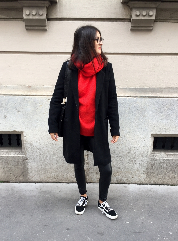 Leggings_cuir_pull_rouge9